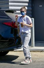 KATE MARA Out and About in Los Angeles 09/24/2020