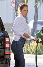 KATHARINE MCPHEE at a Gas Station in Montecito 09/09/2020