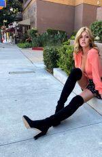KATHERINE MCNAMARA for Stuart Weitzman Boots, 2020