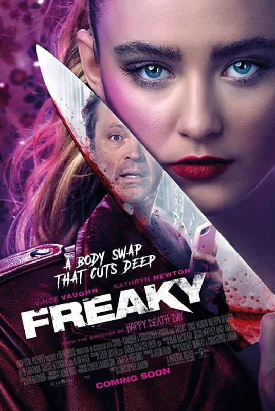 KATHRYN NEWTON – Freaky Posters and Trailer, 2020