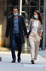 KATIE HOLMES and Emilio Vitolo Jr. Out in New York 09/21/2020