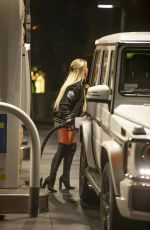 KAYLYN SLEVIN at a Gas Station in Calabasas 09/15/2020