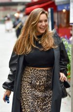 KELLY BROOK Arrives at Heart Radio in London 09/29/2020
