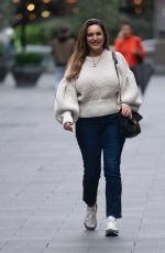 KELLY BROOK Out in London 09/23/2020