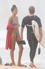 KELLY GALE in Bikini on the Beach in Santa Monica 08/06/2020