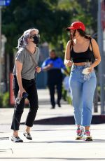 KELLY OSBOURNE Leaves Gracias Madre in West Hollywood 09/25/2020