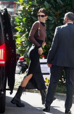 KENDALL JENNER Arrives at Versace Photoshoot in Milan 09/27/2020