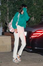 KENDALL JENNER Leaves Soho House in Malibu 09/06/2020