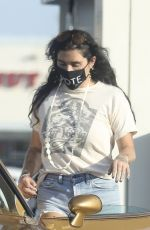 KESHA SEBERT at a Gas Station in Los Angeles 09/04/2020