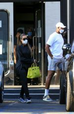 KHLOE KARDASHIAN anD Tristan Thompson Shopping at XIV Karats in Beverly Hills 09/25/2020