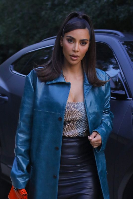 KIM KARDASHIAN Leaves a Business Meeting in Beverly Hills 09/22/2020