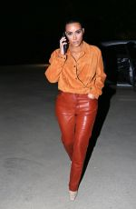 KIM KARDASHIAN Night Out in Malibu 08/31/2020