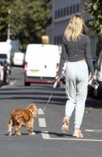 KIMBERLEY GARNEE Out with Her Dog in London 09/28/2020