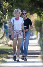KRISTEN STEWART and DLAN MEYER Out in Los Feliz 09/06/2020