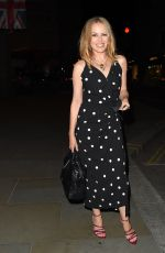 KYLIE MINOGUE Night Out in London 09/21/2020