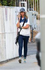 LADY VICTORIA HERVEY Out on Sunset Blvd 08/28/2020