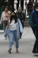 LANA CONDOR and Noah Centineo Out for Dinner in Vancouver 08/31/2020