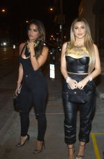 LARSA PIPPEN and ROXY DIAZ at Catch LA in West Hollywood 09/10/2020