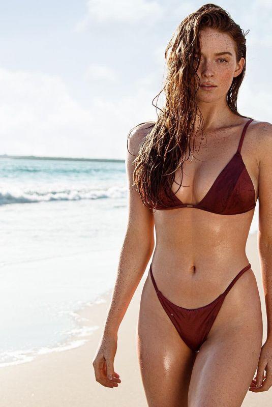 LARSEN THOMPSON in Bikini at a Photoshoot, September 2020
