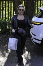 LAUREN GOODGER Arrives at Cosmetic Couture in Manchester 09/25/2020