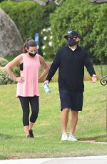 LEA MICHELE and Zandy Reich in Santa Monica 09/08/2020