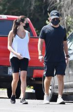 LEA MICHELE and Zandy Reich Out Hiking in Los Angeles 09/21/2020