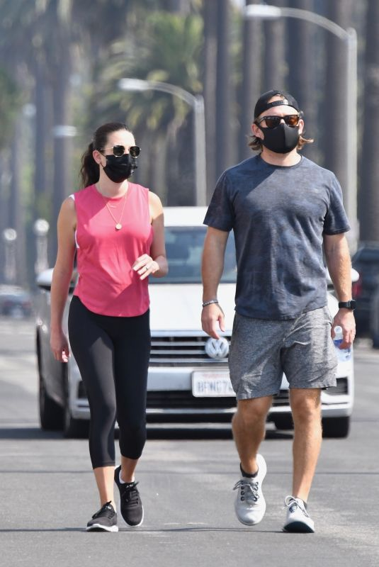 LEA MICHELE and Zandy Reich Out Hiking in Los Angeles 09/26/2020