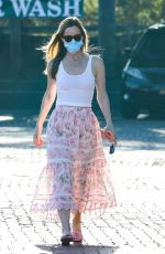 LESLIE MANN Out and About in Malibu 09/05/2020