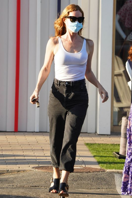 LESLIE MANN Out and About in Malibu 09/22/2020