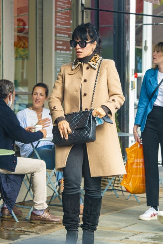 LILY ALLEN Out in London 09/24/2020