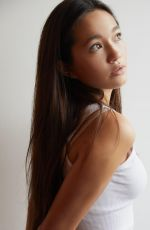 LILY CHEE at a Photoshoot, September 2020