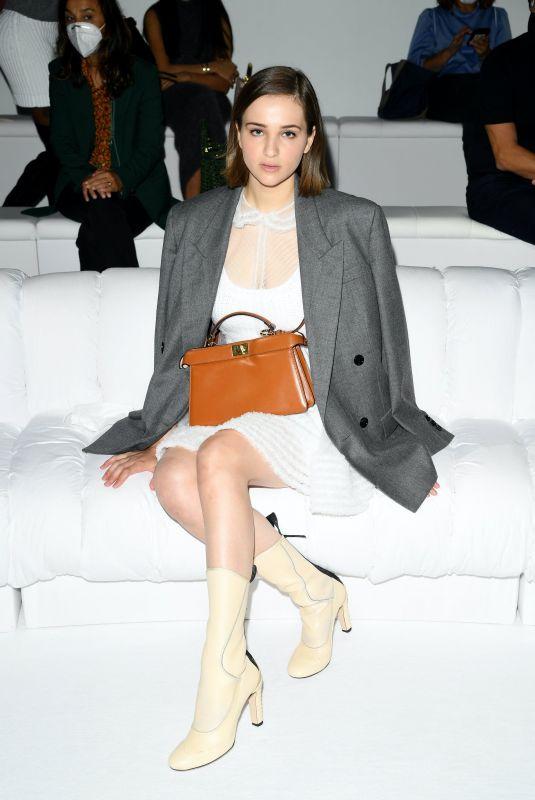 LISA VICARI at Fendi Spring/Summer 2021 Show at Milan Fashion Week 09/23/2020