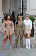 LITTLE MIX Arrives at BBC Radio One