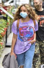 LITTLE MIX Arrives at Global Radio in London 09/08/2020
