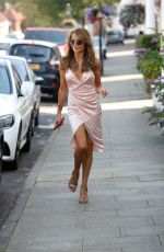 LIZZIE CUNDY Out and About in London 09/15/2020