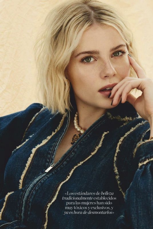 LUCY BOYNTON in Elle Magazine, Spain October 2020