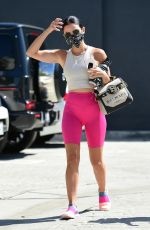 LUCY HALE Arrives at a Gym in Studio City 09/20/2020