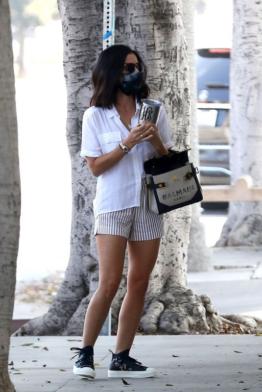 LUCY HALE at a Doctor's Office in Los Angeles 09/23/2020