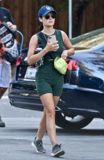 LUCY HALE in Tights Out Hiking in Studio City 09/19/2020