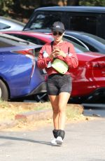 LUCY HALE Out Hiking in Hollywood Hills 09/17/2020