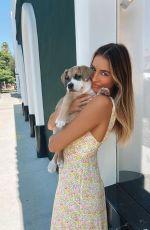 MADI EDWARDS with her Dog - Instagram Photos 09/22/2020