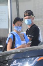 MADISON BEER and Nick Austin Night Out on Melrose Avenue in West Hollywood 09/19/2020