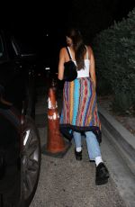 MADISON BEER Leaves a Party in Hollywood 09/24/2020