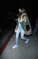 MADISON BEER Leaves at BOA Steakhouse in Hollywood 09/11/2020