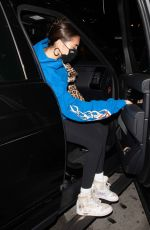 MADISON BEER Leaves Boa Steakhouse in West Hollywood 09/15/2020