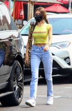 MADISON BEER Out for Lunch in West Hollywood 09/15/2020