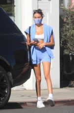 MADISON BEER Out Shopping in West Hollywood 09/19/2020