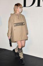 MAISIE WILLIAMS at Dior Fashion Show in Paris 09/29/2020