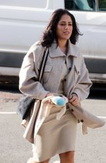 MALIN ANDERSON Arrives at a Photoshoot in Camden 09/28/2020