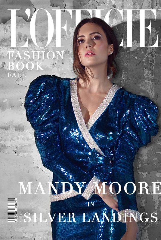 MANDY MOORE for L'Officiel Australia Fashion Book, Fall 2020